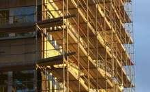 fotografija gradilišta stanova