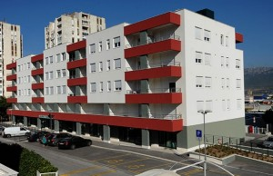nova zgrada u Splitu