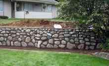 Baštenska ograda od kamena