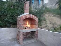 Ventilator za dimnjak roštilja