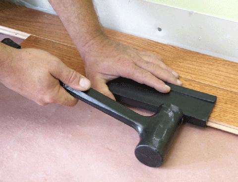 nakucavanje poda od drveta