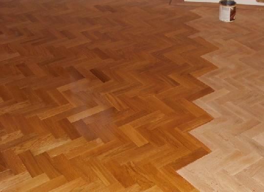 nauljeni drveni pod