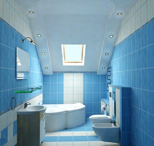 Bathroom With Blue Tile Floor: O Nekretninama
