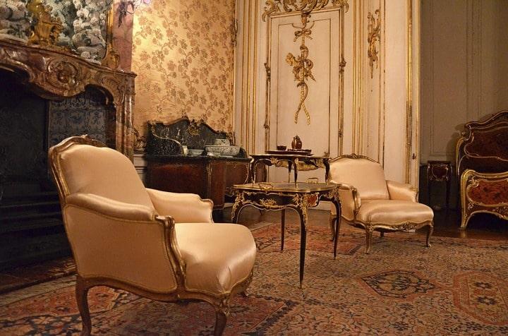 enterijer u baroknom stilu