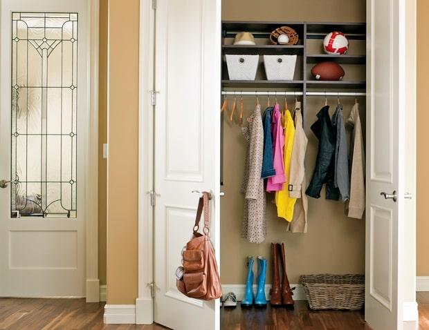 prostor za odeću i obuću